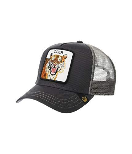 - Goorin Brothers Unisex Animal Farm Snap Back Trucker Hat Grey Eye of The Tiger One Size