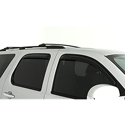 Auto Ventshade 194514 In-Channel Ventvisor Side Window Deflector, 4-Piece Set for 2007-2014 Chevrolet Tahoe/GMC Yukon: Automotive