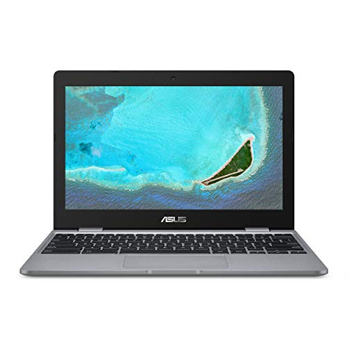 "ASUS Chromebook C223NA-DH02-GR 11.6"" HD display, Intel Dual-Core Celeron N3350 Processor (up to 2.4GHz) 4GB RAM, 32GB eMMC storage, Grey"