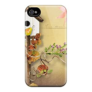 Perfect Autumn Owl Treat Case Cover Skin For Iphone 4/4s Phone Case