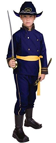 RG Costumes Union Officer, Child Medium/Size 8-10 ()
