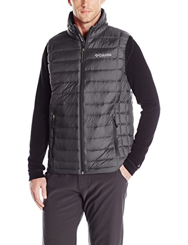Columbia Men's Voodoo Falls 590 TurboDown Vest, Black, XX-Large Columbia Chest Pocket Vest