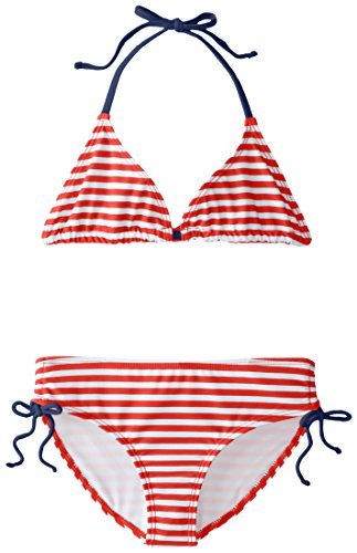 Kanu Surf Big Girls' Bali Bikini Swimsuit, Red, 7