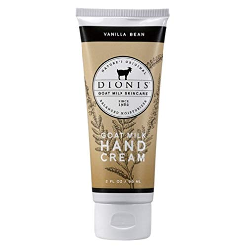 Dionis Goat Milk Skincare Hand Cream (Vanilla Bean, 2 oz)