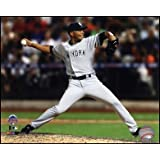Mariano Rivera #42 of the New York Yankees pitching during the 84th MLB All-Star Game on July 16, 2013 Art Poster PRINT Unknown 10x8