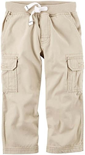 Carter's Baby Boys' Woven Pant 224g355, Khaki, 18 Months - Carters Woven Pant