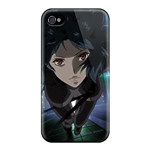 Iphone 4/4s Cover Case - Eco-friendly Packaging(kusanagi Motoko)