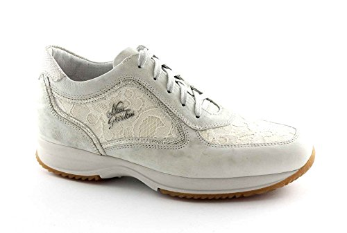 Blonde Kvinde Safari Zeppetta Sort Bianco Haver 15126 Sneakers Hvide Sneakers Tv0nq