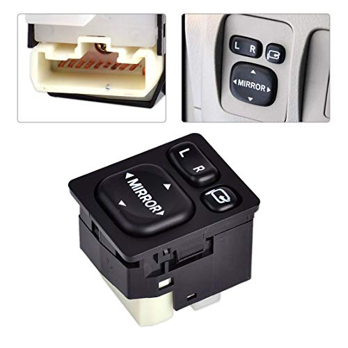 9 Pin Car Outside Plastic Rear View Mirror Power Switch Button Control 84872-52040 84870-0P010 Fit for Toyota Camry Rav4