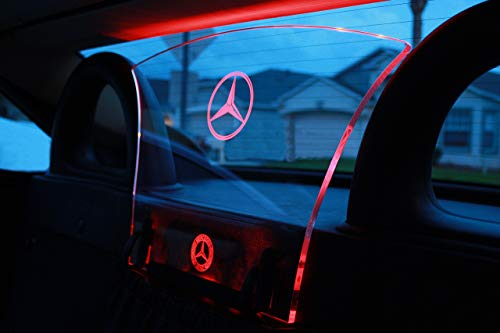 (1998-2004 Mercedes-Benz SLK Class (R170) Wind Deflector Windscreen & Multi color Illumination Kit )