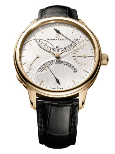 Maurice Lacroix Masterpiece Double Retrograde 18kt Rose Gold Mechanical Manual-wind MP7218-PG101-130