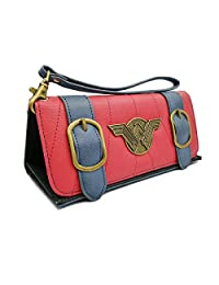 Women Wallet Compatible for Wonder Woman Tri-Fold Credit Card Holder Wallets Clutch