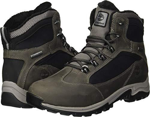 Timberland Women's MT. Maddsen Winter Waterproof Ins Hiking Boot, Medium Grey, 8.5 M US