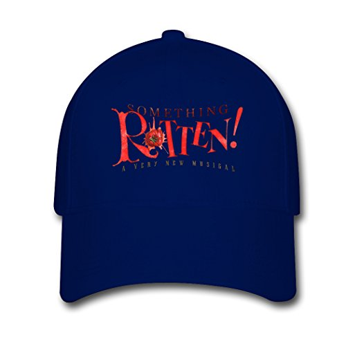 cotton-adjustable-baseball-cap-something-rotten-logo-fashion-snapback-hat-for-men-women