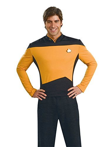 Star Trek The Next Generation Deluxe Gold Shirt, Adult XL -