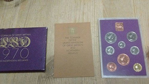 (UK 1970 Coinage of the United Kingdom of Great Britain and Northern Ireland Proof)