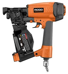 Ridgid R175rna 21163 1 3 4 Inch Coil Roofing Nailer
