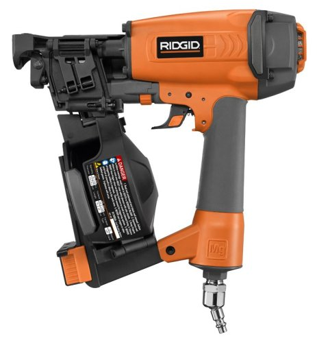 Ridgid R175RNA 21163 1-3 4-Inch Coil Roofing Nailer
