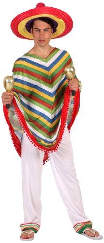 Atosa-12324 Disfraz Mejicano, multicolor, XL (12324): Amazon.es ...