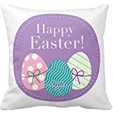 Funny Wholesale Happy Easter Pillow Cover, 18 x 18 inches