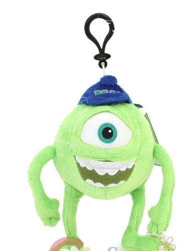 Monsters University Mike Plush Clip Doll Key Chain Mini Coin Bag