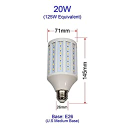 Super Bright 15W 20W 25W 30W E26 110V LED Corn Light Bulb Lamp Warm / Cool White