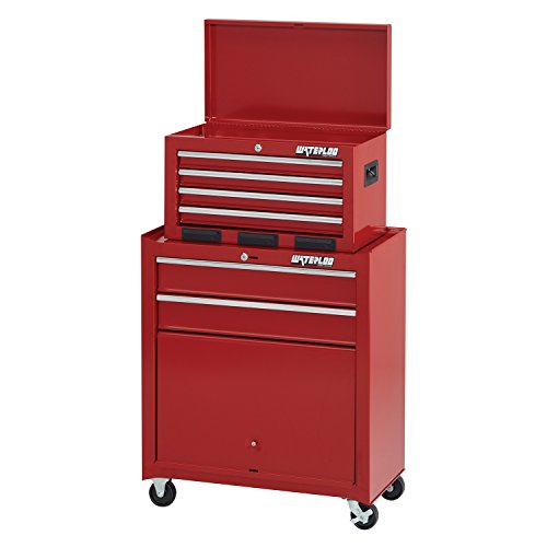 Waterloo 6-Drawer Tool Chest and Rolling Cabinet, 26