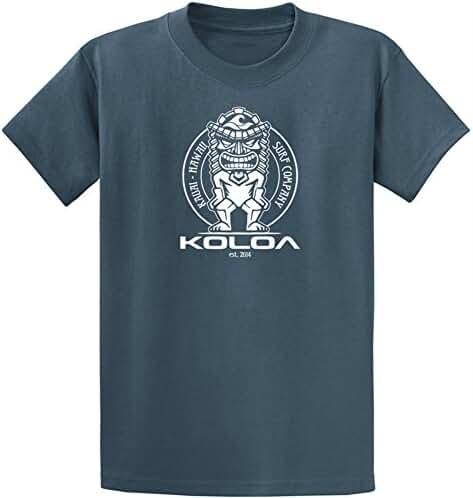 Koloa Surf Custom Graphic Heavyweight Cotton T-Shirts in Regular, Big and Tall