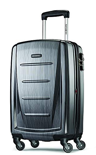 (Samsonite Winfield 2 Expandable Hardside Luggage Set with Spinner Wheels, 3-Piece (20/24/28), Charcoal)