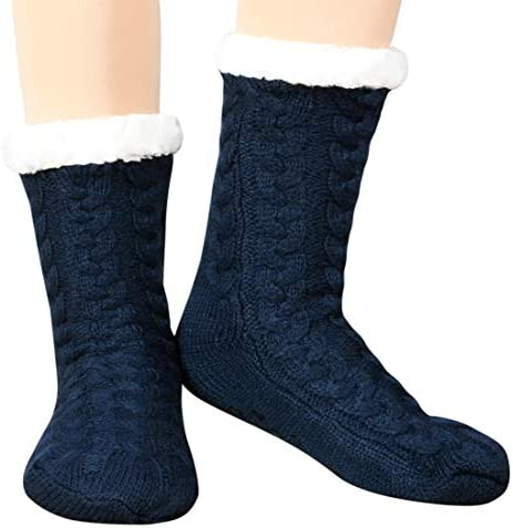 Women Winter Socks Women Socks Warm Thick Soft Wool Socks Christmas Gift Socks for Women Cozy Crew Socks