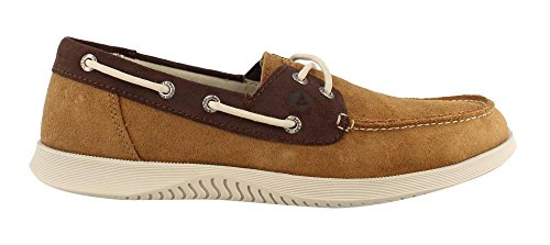 Mens Sperry, Difensore 2 Occhio Scarpa Da Barca Marrone Scuro