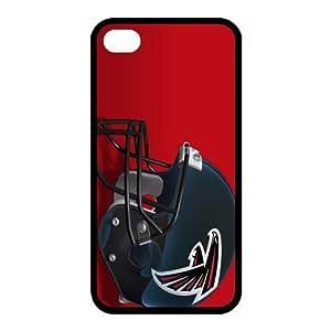 Custom Atlanta Falcons NFL Back Cover Case for iphone 4,4S JN4S-1195