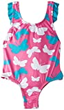 Hatley Big Girls' Graphic Butterflies One Piece Swimsuit