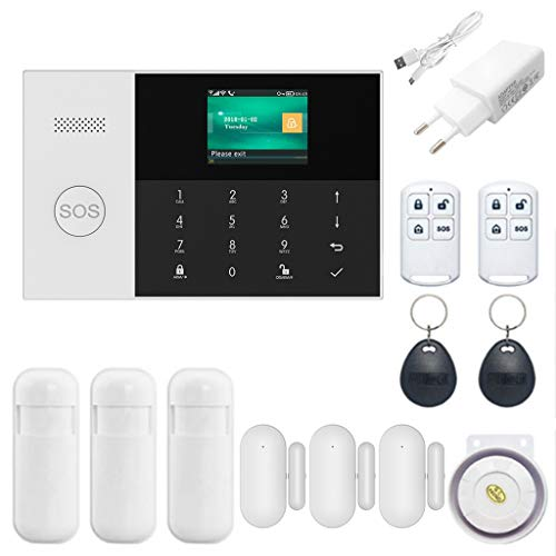 2019 Alarm Systems for Your Home,NAOTAI 1Set Wireless WIFI GSM GPRS Alarm System Home Security APP Remote Control RFID…