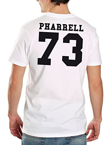 Pharrell 73 Backprint T-Shirt Bianco
