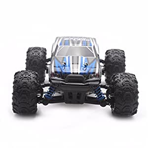 RC Car, S9300 2.4Gh RC Racing Cars RTR 4WD High Speed Waterproof Electronics Monster Remote Control Truck Helicopter with An Extra 7.4V 850mAh Rechargeable Battery for Kids Adults
