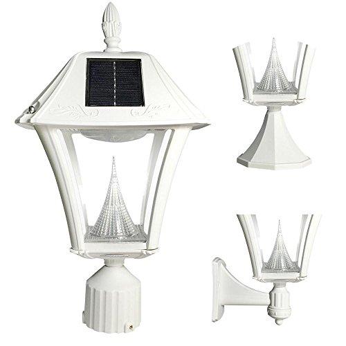 Gama Sonic Baytown Solar Lamp in US - 8