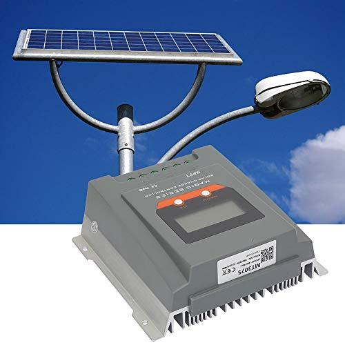 Solarladeregler, 12V/24V Solarladeregler MPPT 30A Solarladeregler 390W/780W