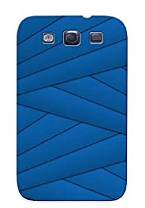 Crazinesswith Scratch-free Phone Case Galaxy S3- Retail Packaging - Overlapping Stripes