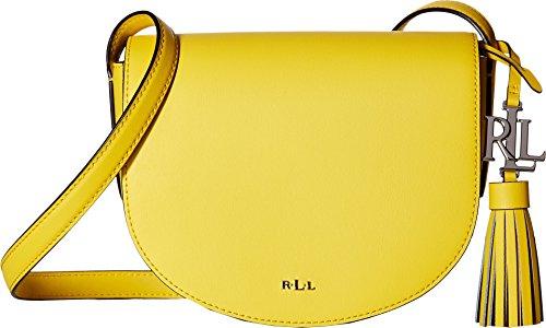 LAUREN Ralph Lauren Women's Dryden Caley Mini Saddle Dandelion/Black One - Bag Ralph Lauren Yellow