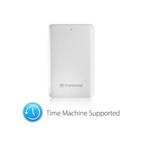Transcend 256GB Thunderbolt Solid State Drive StoreJet 500 for MAC (TS256GSJM500) 6 HFS+ pre-formatted for MAC USB 3.0 interface + Thunderbolt Interface SSD
