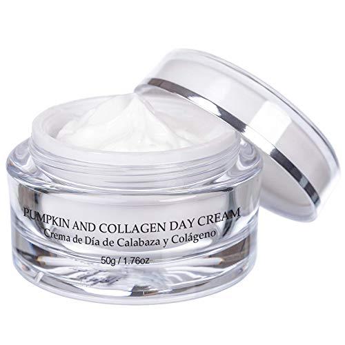 Vivo Per Lei Collagen Day Cream - Anti Aging Day Cream for Soft, Supple Skin - Skin Firming Cream with Pumpkin, Olive Oil, Shea Butter, Ginger & Vitamin A - 50 g, 1.76 oz