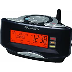 Emerson Radio CKW2000 Dual Alarm Clock Radio with NOAA/Same Weather Alert System (Black) (Discontinued by Manufacturer)