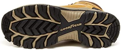 Goodyear Montana Men's Waterproof Leather Hiker Boot, Mountain and Work Shoes
