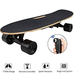 Combining style, speed and comfort, this skateboard is perfect for carving your way along busy streets. Three speed modes, it allows you start in low speed, which make you feel safe and stable. If you are a beginner, you can consider a board ...