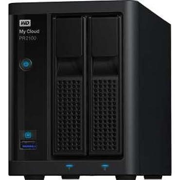 WD WDBBCL0000NBK-NESN 0TB My Cloud Pro Series PR2100 USB 3.0