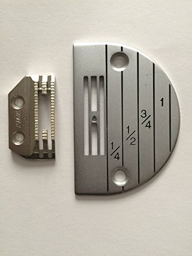 Needle Plate & Feeder Set for Industrail Single Needle Sewing Machine