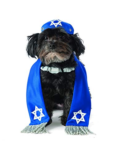 Bar Mitzvah Decor (Rubie's Yarmulke and Tallis Dog)