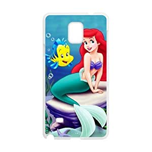 Custom Unique Design Ariel Mermaid Samsung Galaxy Note 4 Silicone Case