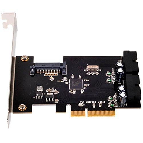 7 opinioni per Silverstone SST-ECU01- interface cards/adapters (PCIe, USB 3.0, Black)